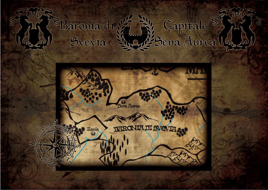 Mappa di Svevia